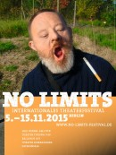 NO LIMITS Theaterfestival Plakatmotiv